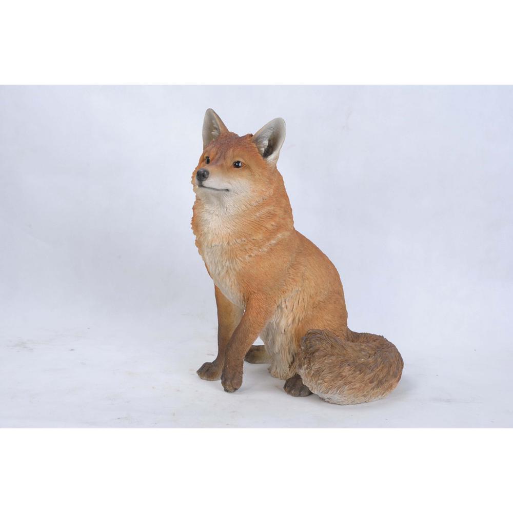 19.25 in. H Fox Sitting