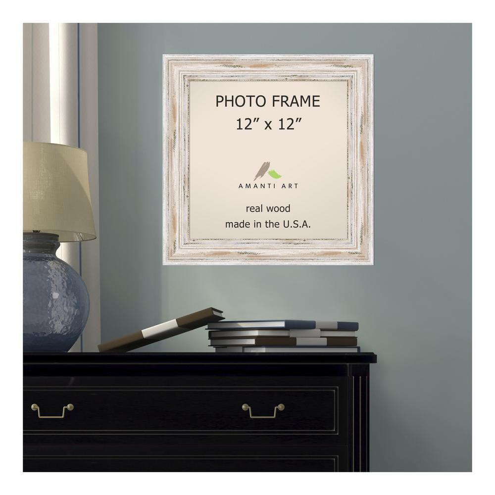 Whitewash Picture Frame