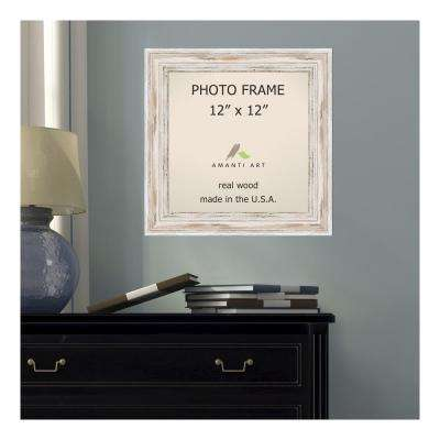 Alexandria 12 in. x 12 in. Whitewash Picture Frame