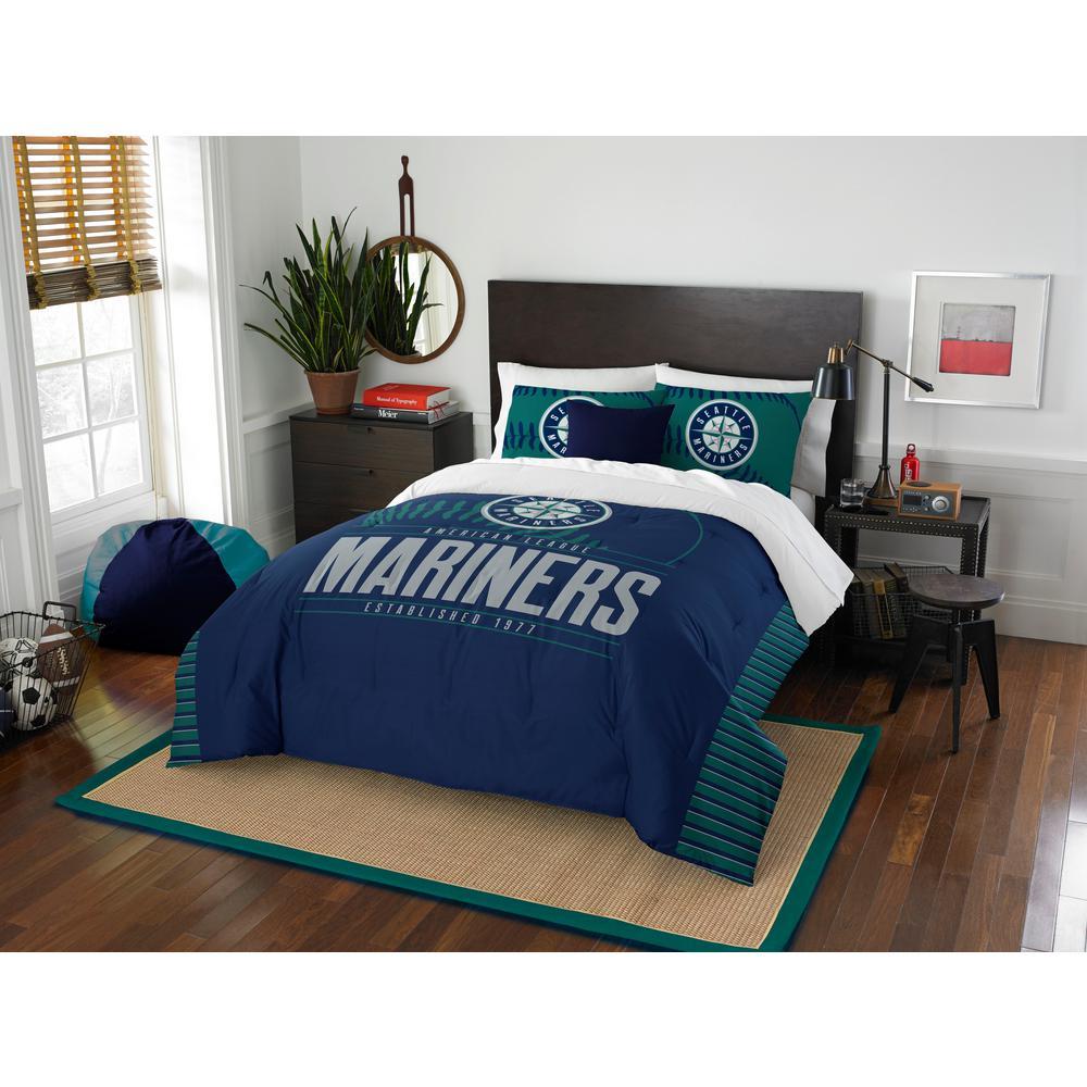 Mariners 3-Piece GrandSlam Multi Full and Queen Comforter Set