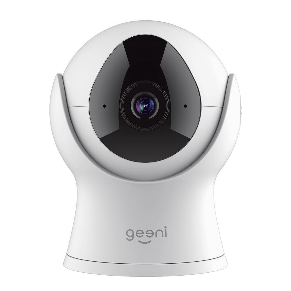 Geeni VISION Smart Wi-Fi Security Camera HD 1080P in White