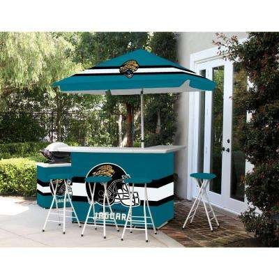 Jacksonville Jaguars All-Weather Patio Bar Set with 6 ft. Umbrella