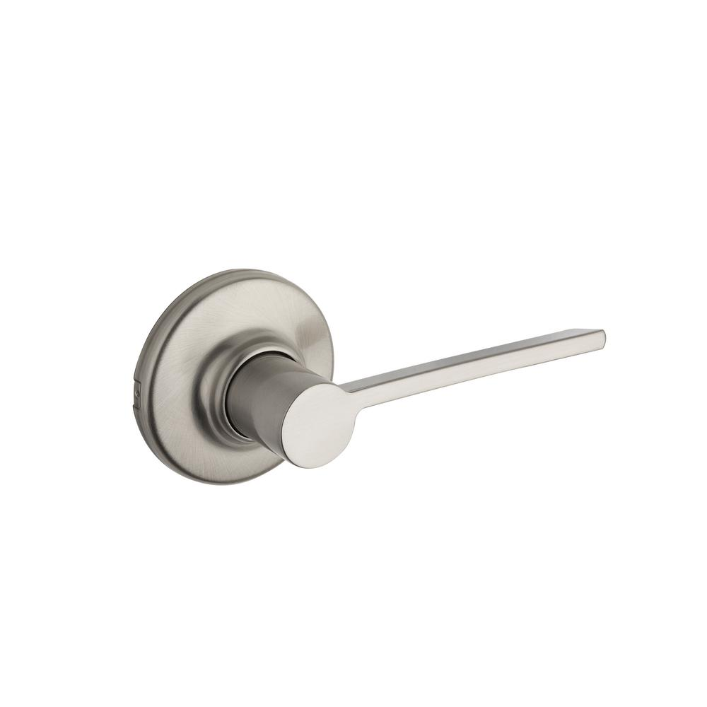 Ladera Satin Nickel Hall/Closet Lever