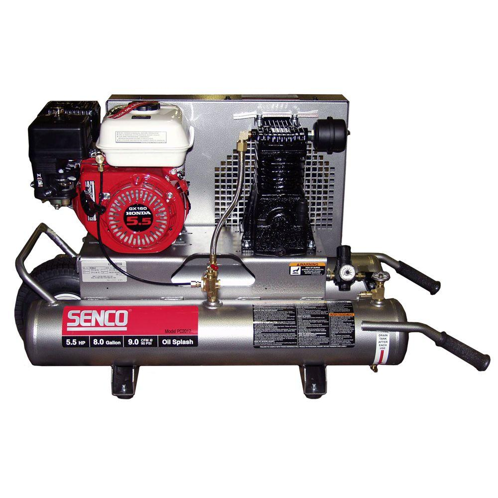 Senco 8-Gal. Portable Gas Air Compressor-DISCONTINUED
