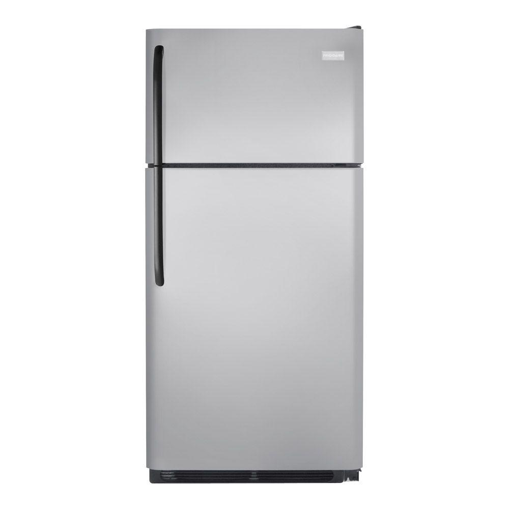 Frigidaire 18.2 cu. ft. Top Freezer Refrigerator in Silver Mist
