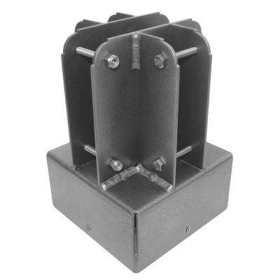 6 in. x 6 in. Aluminum Post Top Connector
