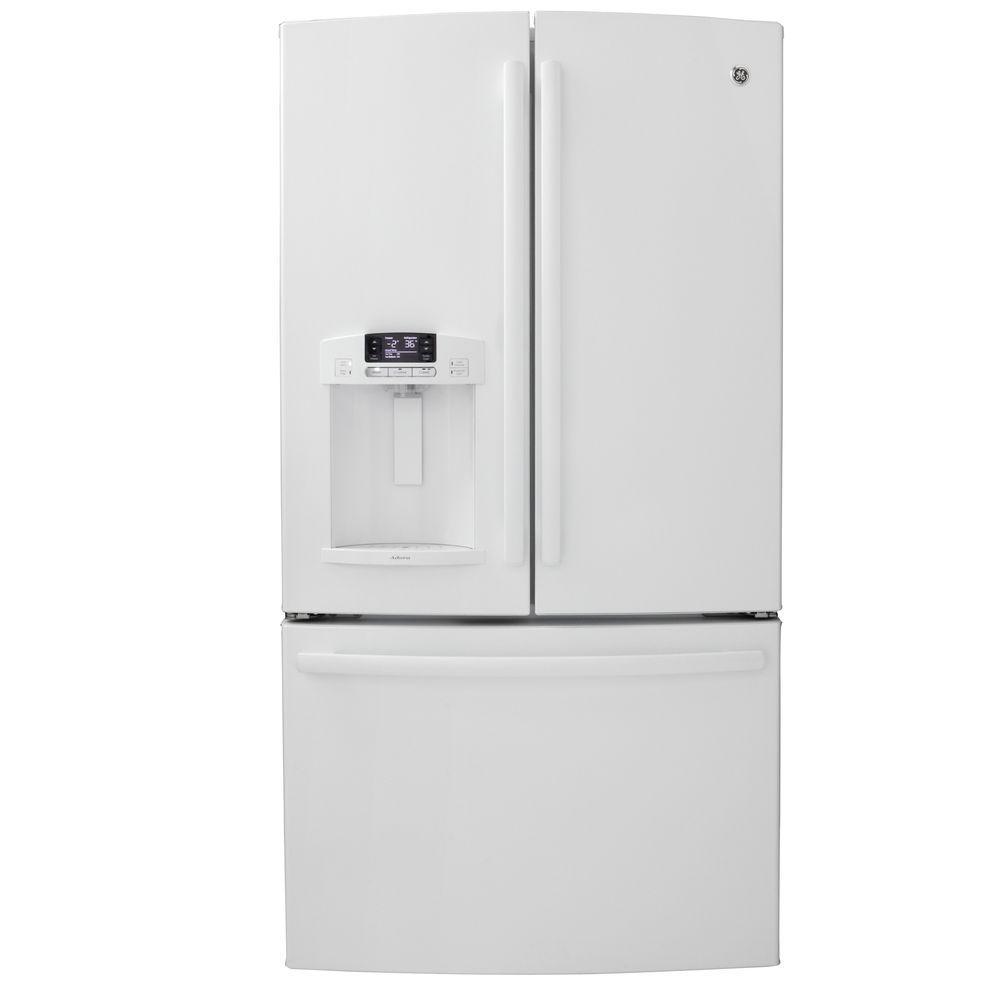 GE Adora 27.7 cu. ft. French Door Refrigerator in White