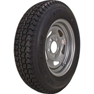 ST205/75D-15 K550 BIAS 1820 lb. Load Capacity Silver 15 inch Bias Tire and...