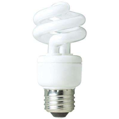 40W Equivalent Soft White Spring Non Dimmable CFL Light Bulb