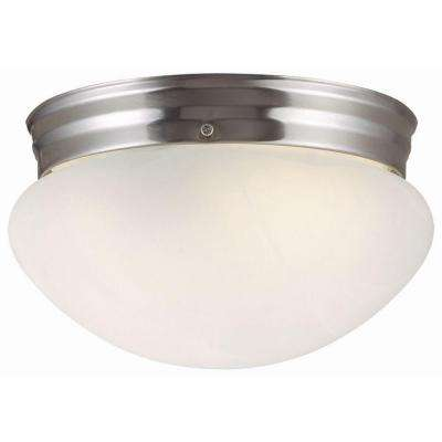 Millbridge 1-Light Satin Nickel Ceiling Light