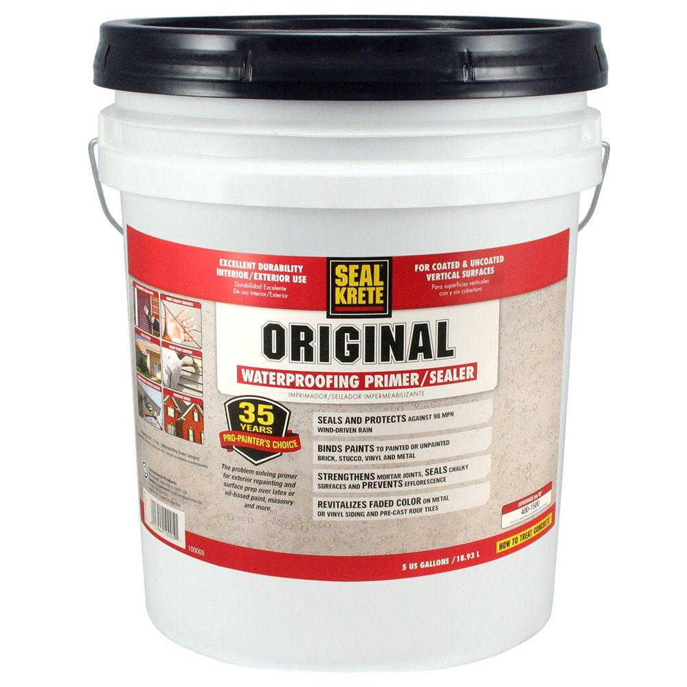 Seal krete 5 gal original waterproofing sealer 100005 - Sealing exterior cinder block walls ...