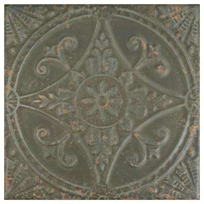 Saja Nero 13 in. x 13 in. Ceramic Floor and Wall Tile (12.2 sq. ft. / case)