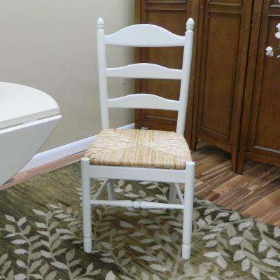 Vera Ivory Wood Dining Chair
