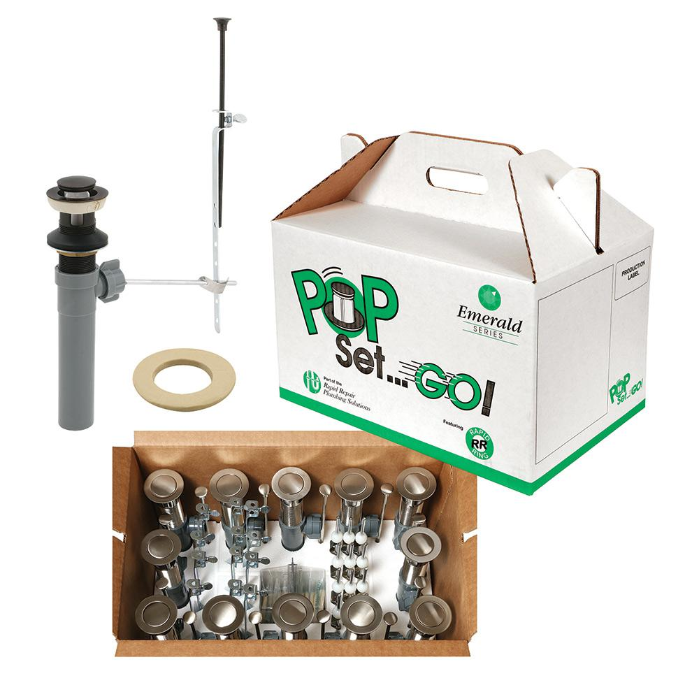 Prime Line Pop Set Go Kit Oil Rubbed Bronze with Putty