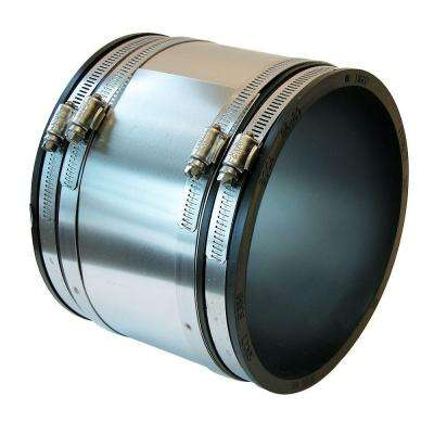 6 in. Flexible PVC Shielded Coupling