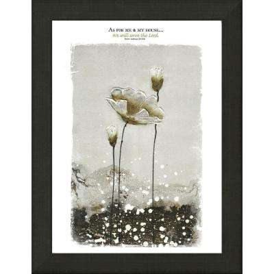 """Modern Home """"As for Me"""" By Carpentree Framed Canvas"""