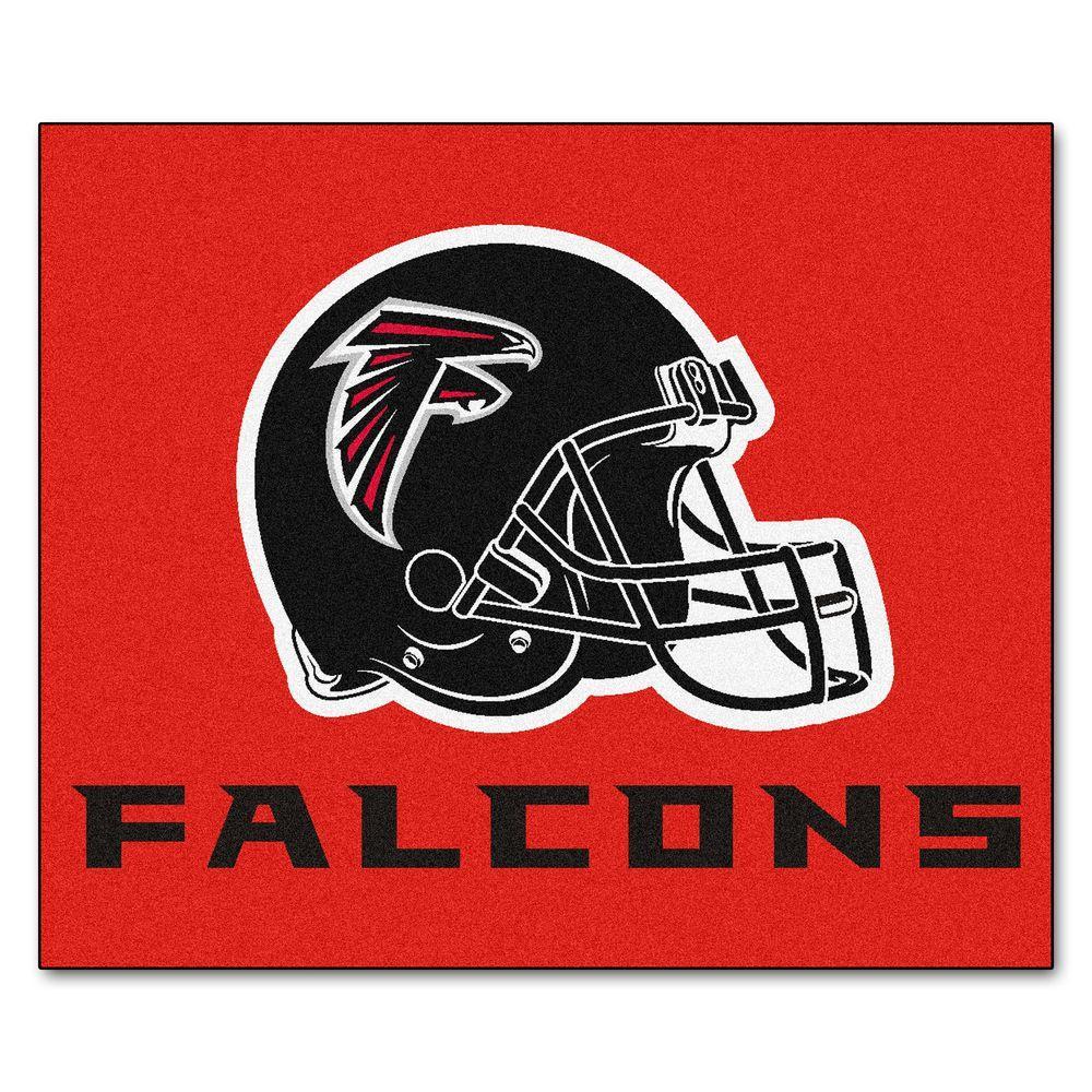 Atlanta Falcons 5 ft. x 6 ft. Tailgater Rug