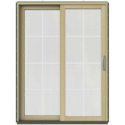 59.25 In. X 79.5 In. W 2500 Hartford Green Prehung Left Hand
