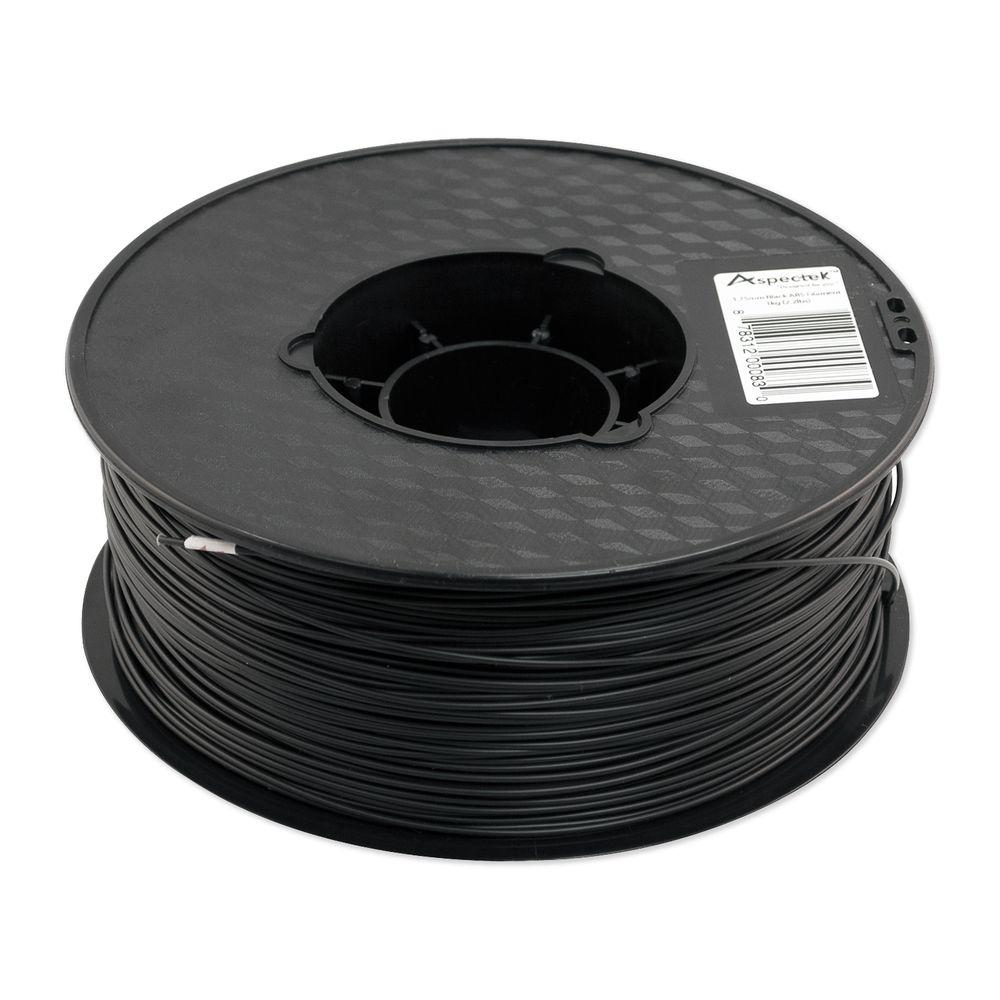 3D Printer Premium Black PLA Filament