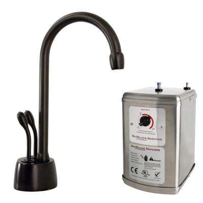 Develosah 2-Handle Hot and Cold Water Dispenser with Tank in Oil Rubbed Bronze