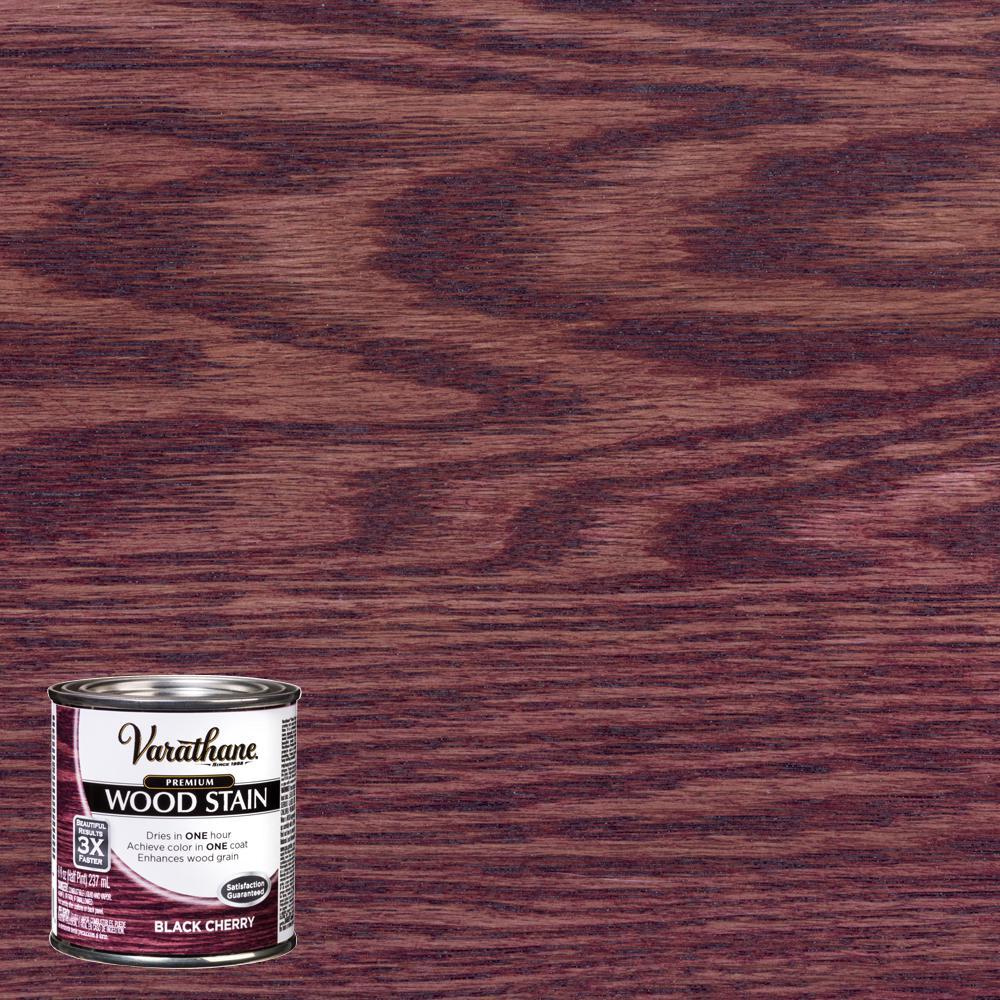 Varathane 8 oz. Black Cherry Premium Fast Dry Interior Wood Stain (4-Pack)