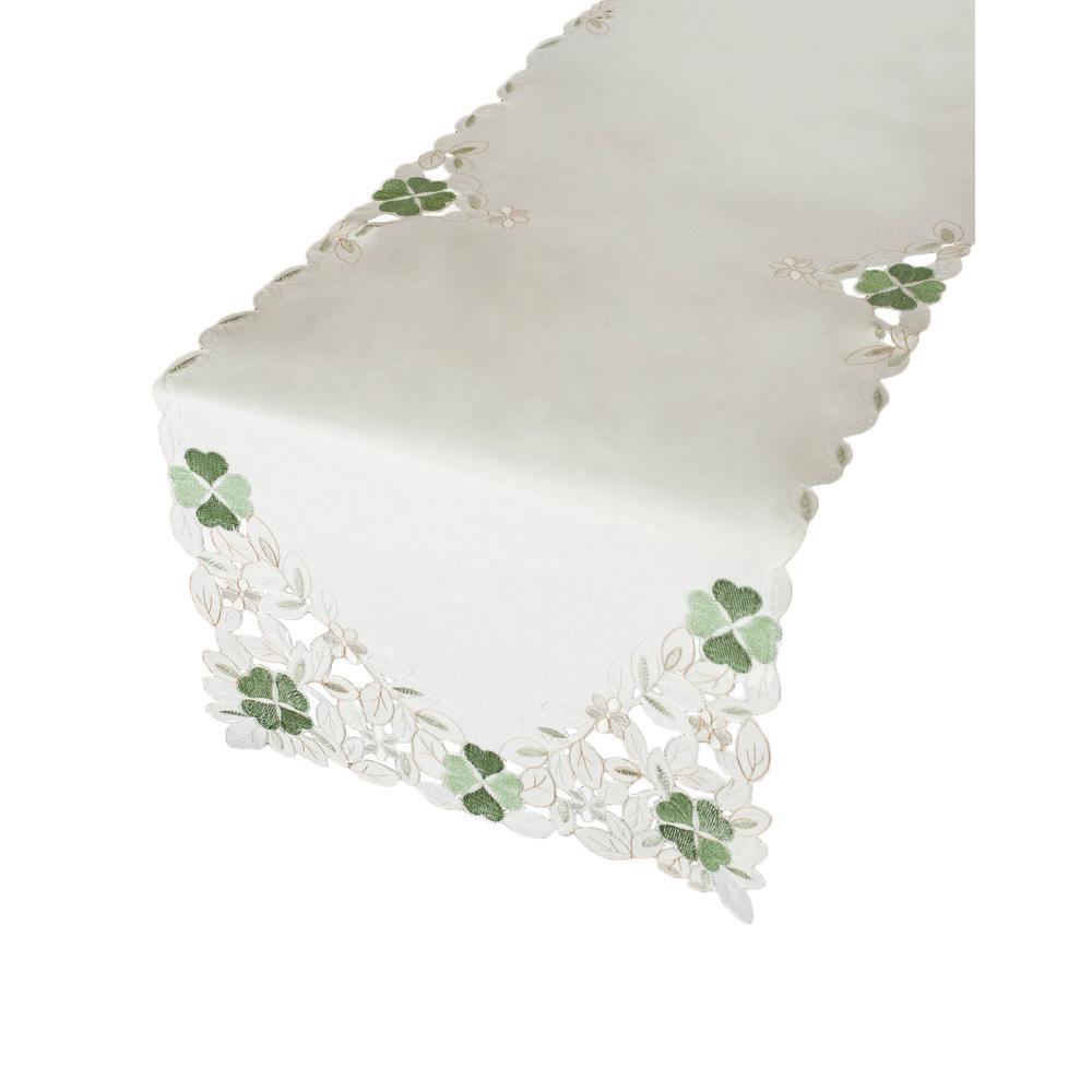 Shamrock 100% Polyester Table Runner