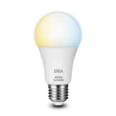 ERIA Tunable White 60-Watt Equivalent A19 Dimmable CRI 90+ Wireless Smart LED Light Bulb