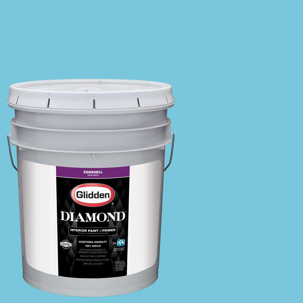 #HDGB41U By The Sea Eggshell Interior Paint With Primer