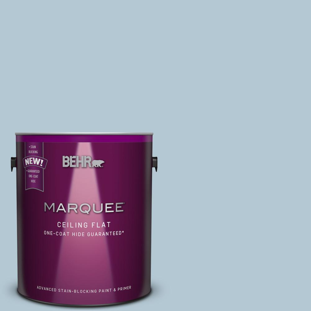 1 gal. #HDC-CT-16A Tinted to English Hollyhock Flat Interior Ceiling Paint