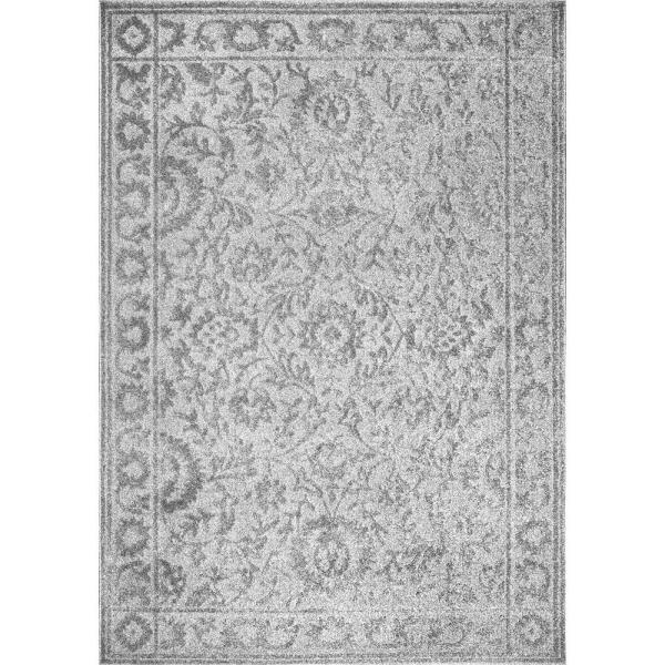 Cadence Oriental Persian Gray 5 ft. x 8 ft.  Area Rug