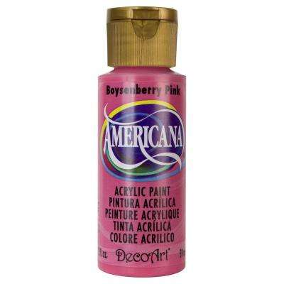Americana 2 oz. Boysenberry Pink Acrylic Paint