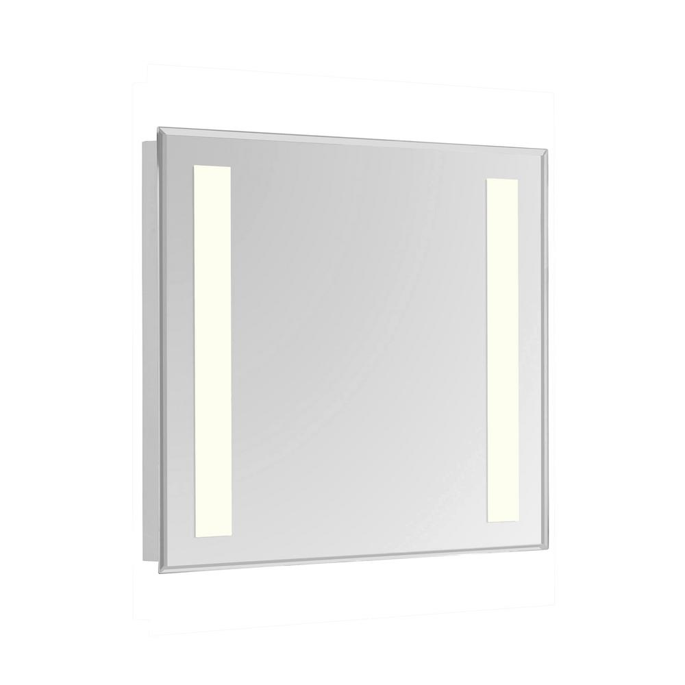 Klein 20 in. x 30 in. 2 Sides LED Wall Mirror