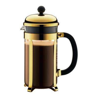 Chambord 8-Cup Gold French Press Coffee Maker