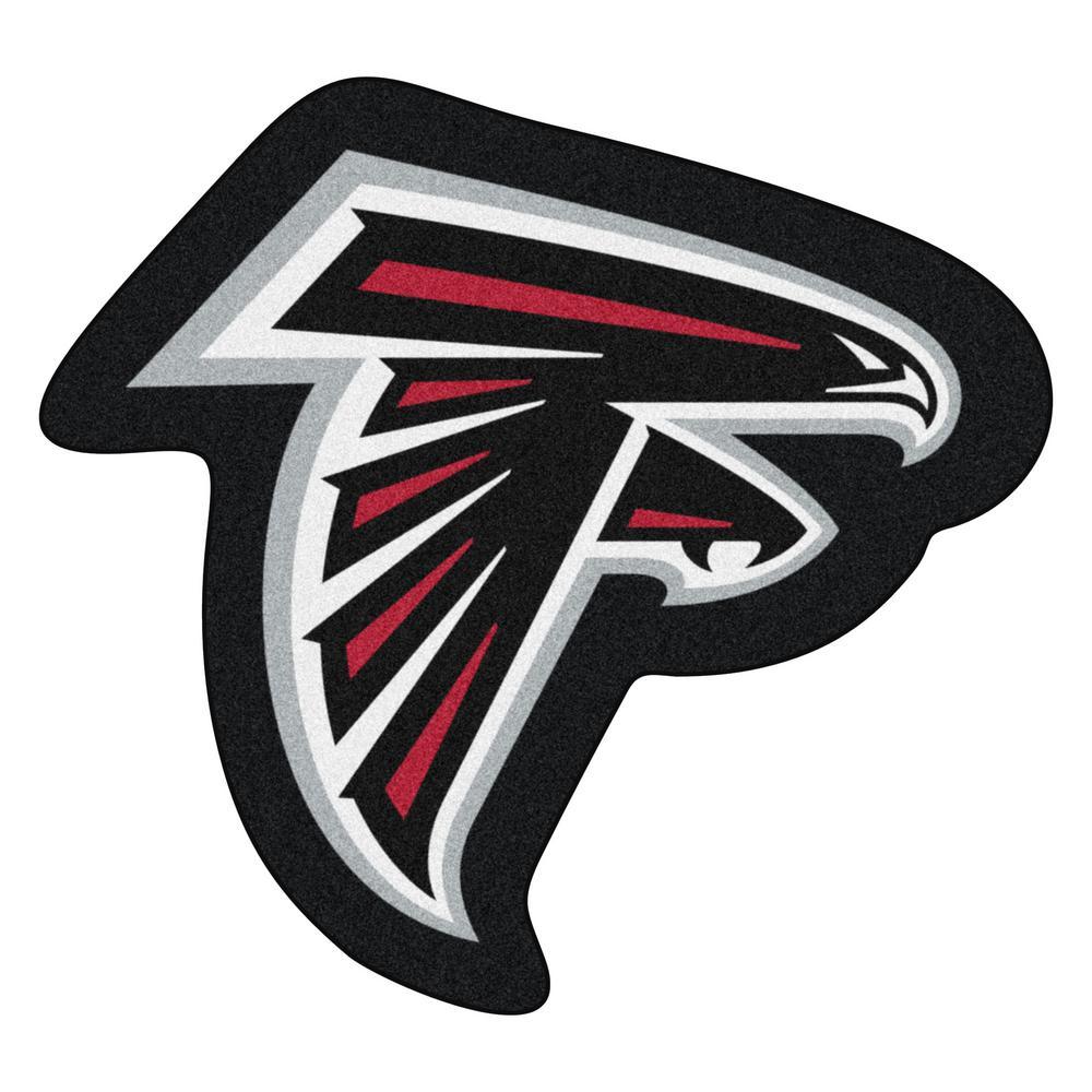 27d92255 FANMATS NFL - Atlanta Falcons Mascot Mat 36 in. x 33.3 in. Indoor Area Rug