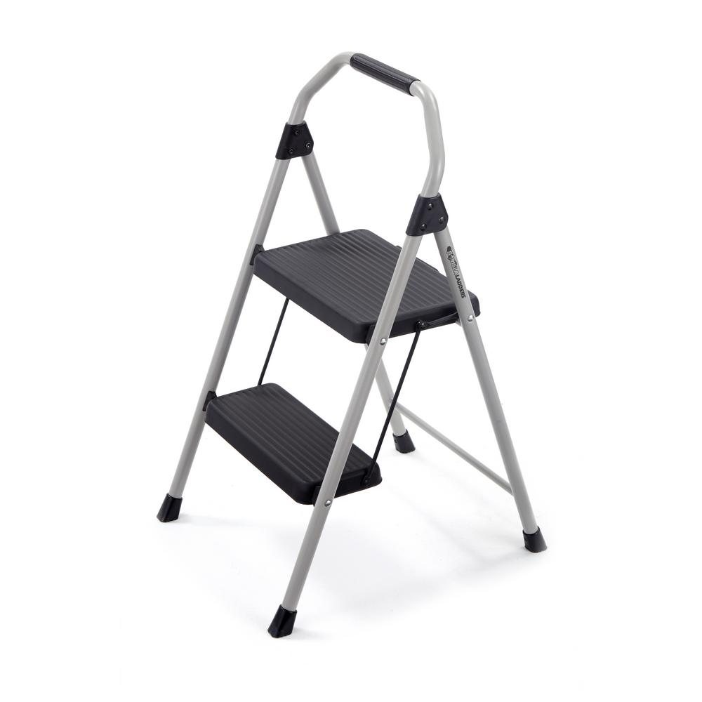 Gorilla Ladders 2 Step Compact Steel Stool With 225 Lb Load Capacity Type