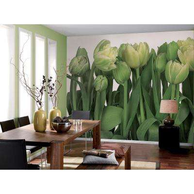 100 in. x 145 in. Tulips Wall Mural