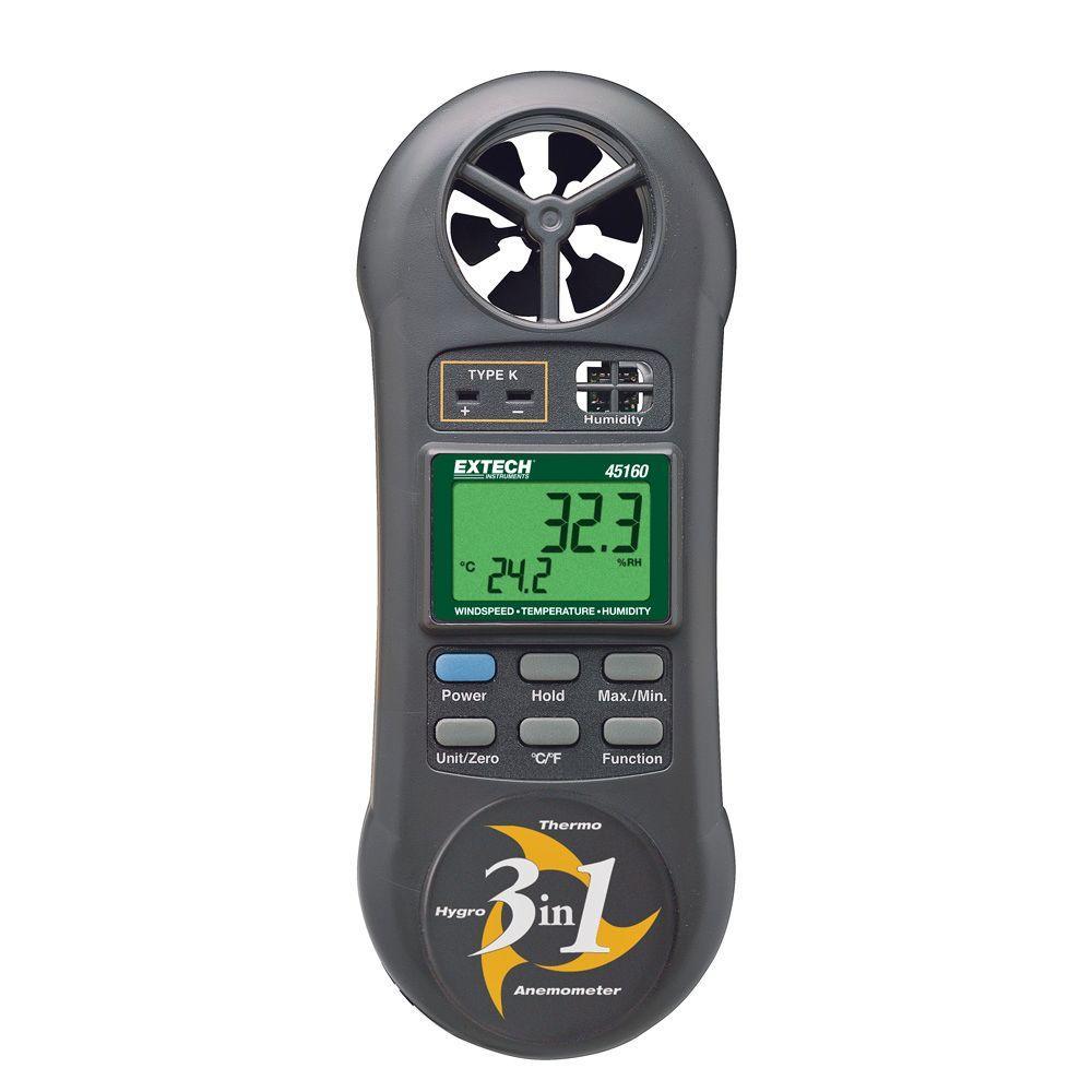 Hygro-Thermo-Anemometer
