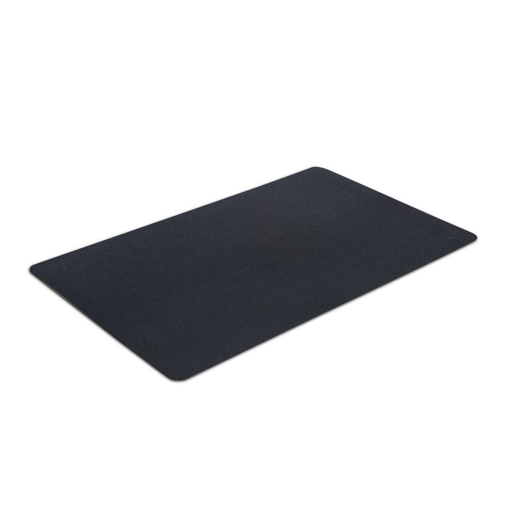 X 48 In Multipurpose Black Rubber Mat