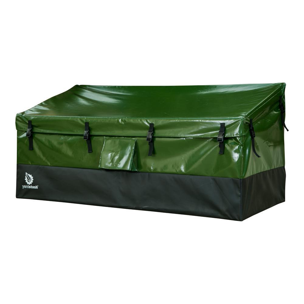 150-Gal. Heavy Duty Tarpaulin Outdoor Storage Deck Box