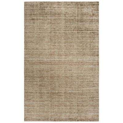 Grand Haven Brown 8 ft. x 10 ft. Rectangle Area Rug