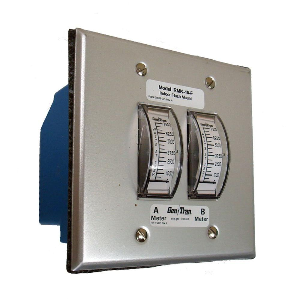 GenTran 15,000-Watt Generator Remote Metering Kit-DISCONTINUED