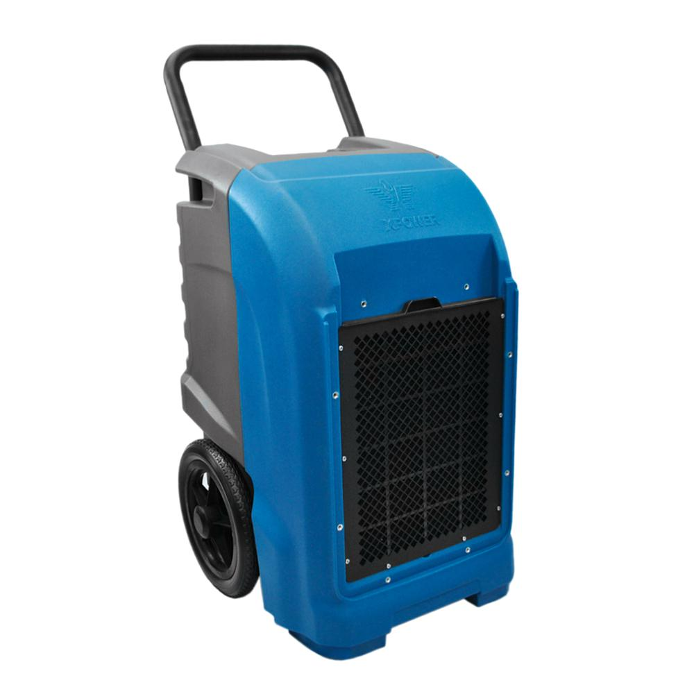 Xpower 125 Pint Commercial Dehumidifier With Automatic