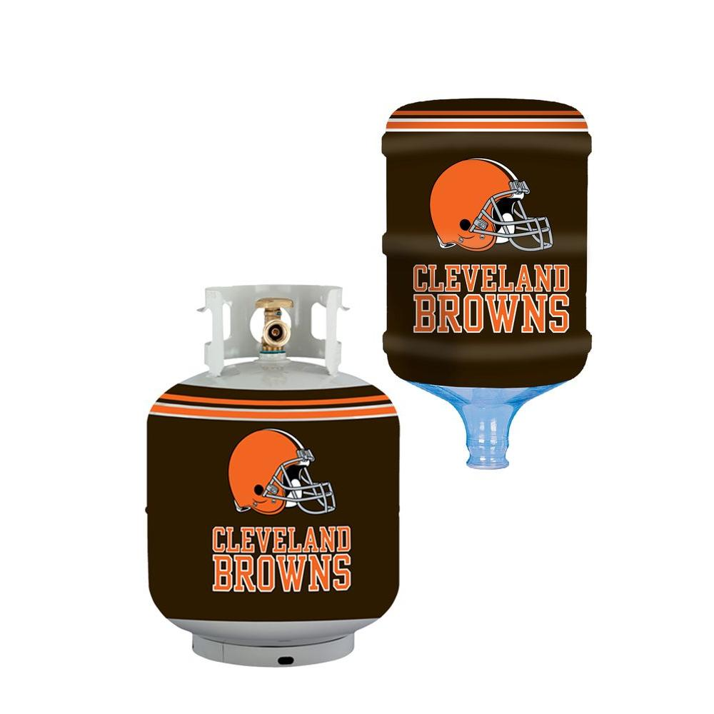 Cleveland Browns Propane Tank Cover/5 Gal. Water Cooler Cover