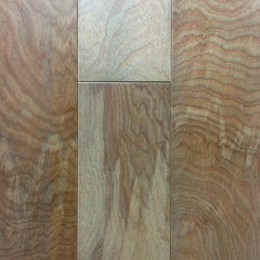 Heritage Mill Take Home Sample Birch American Silvered Engineered Click Hardwood Flooring 5 In. X 7 In., Silvered American