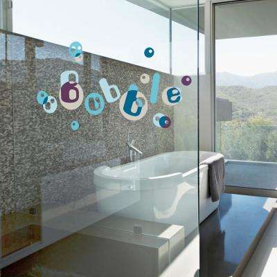 Multi-Color Bubbles Wall Decals