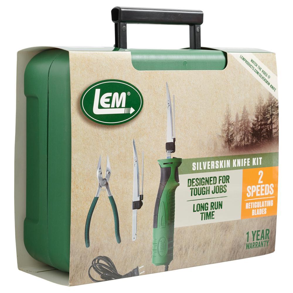 5.25 in. Silver Skin Electric Knife Kit