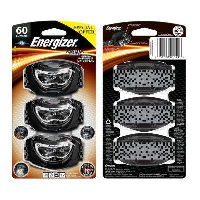 60 Lumen Universal Headlight (3-Pack)