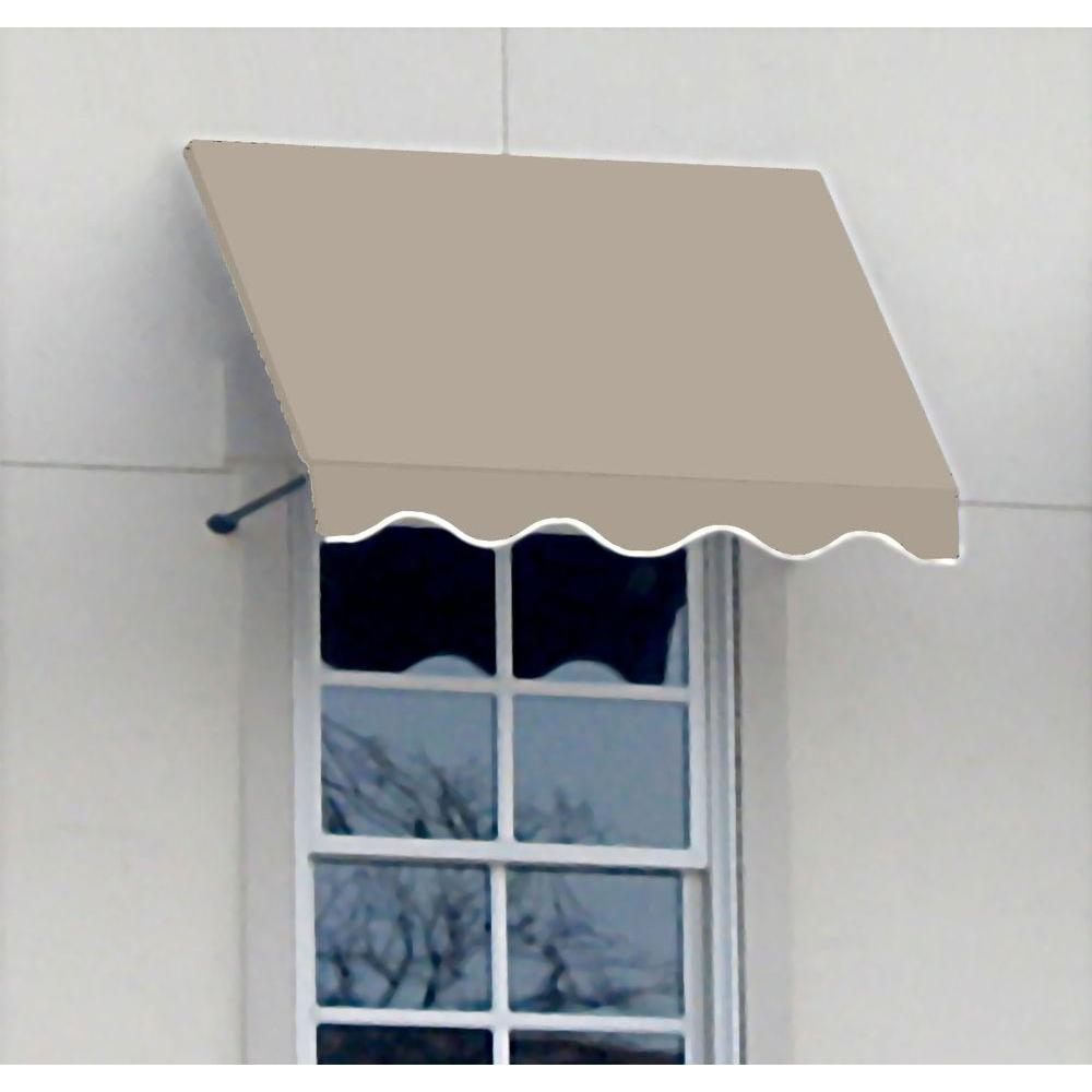 4 ft. Dallas Retro Awning (31 in. H x 24 in.