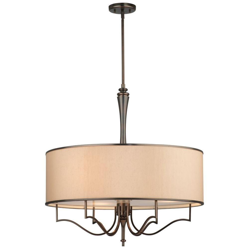 Thomas Lighting Gramercy Park 3-Light Oiled Bronze Pendant-DISCONTINUED