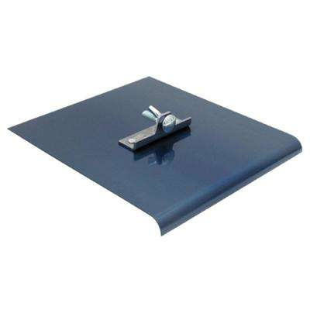 9 in. x 8 in. Blue Steel Walking Edger 1/2 in. Radius 5/8 in. Lip